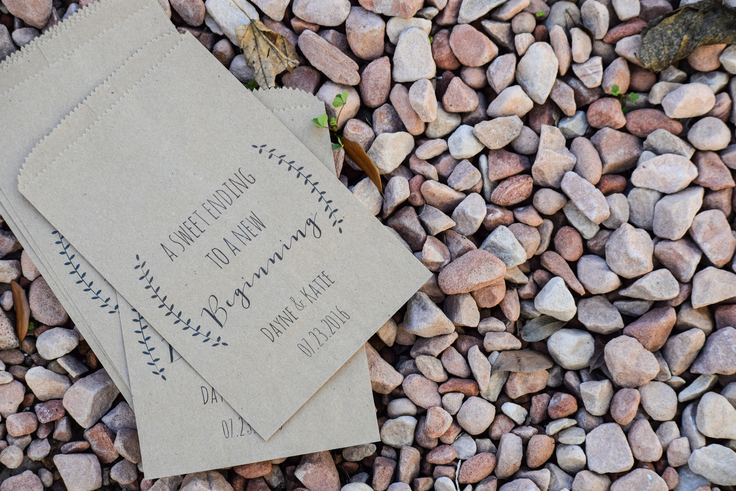 Rustic Wedding Favor Bags by Details On Demand