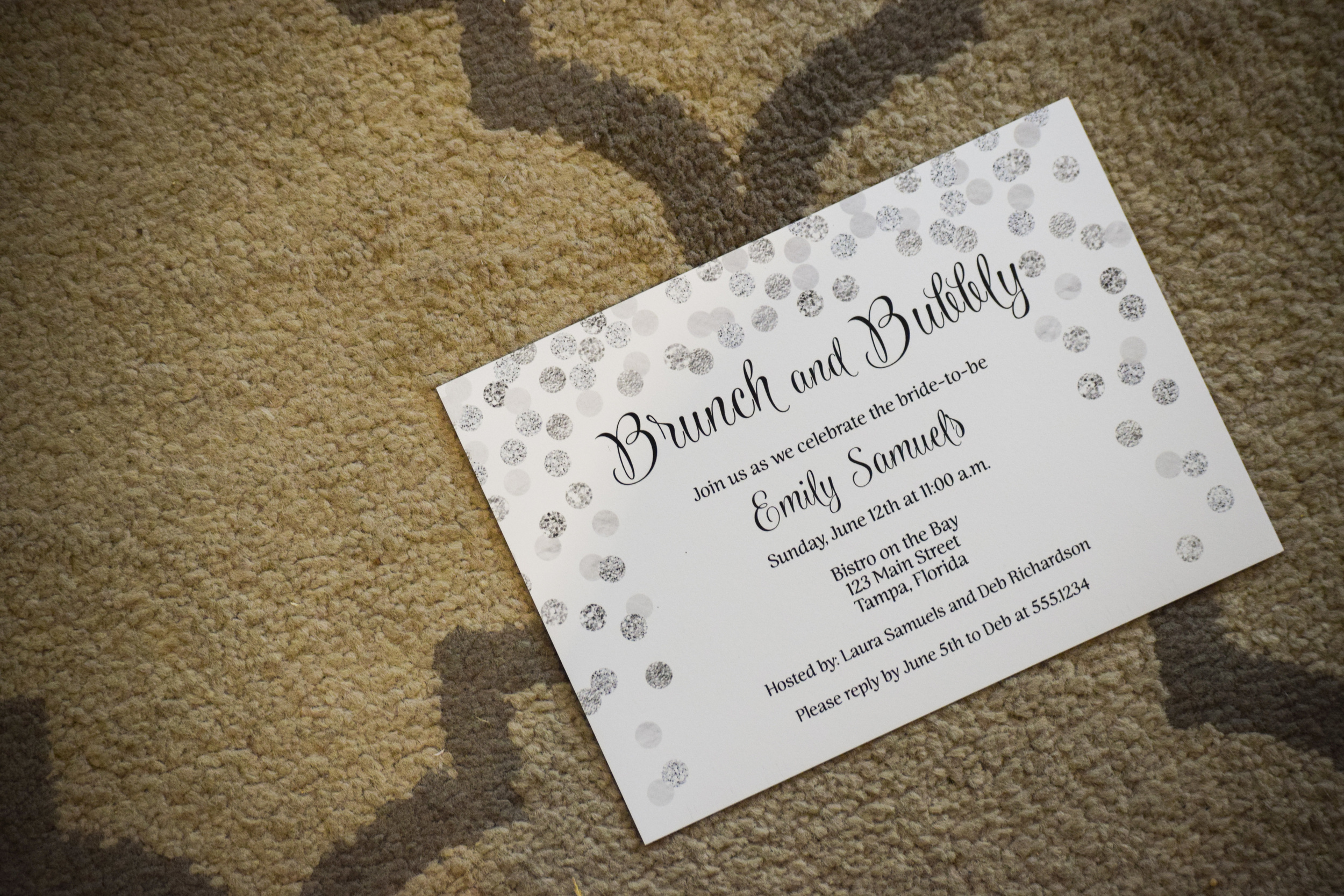 Bridal Shower Invitations by The Invite Lady
