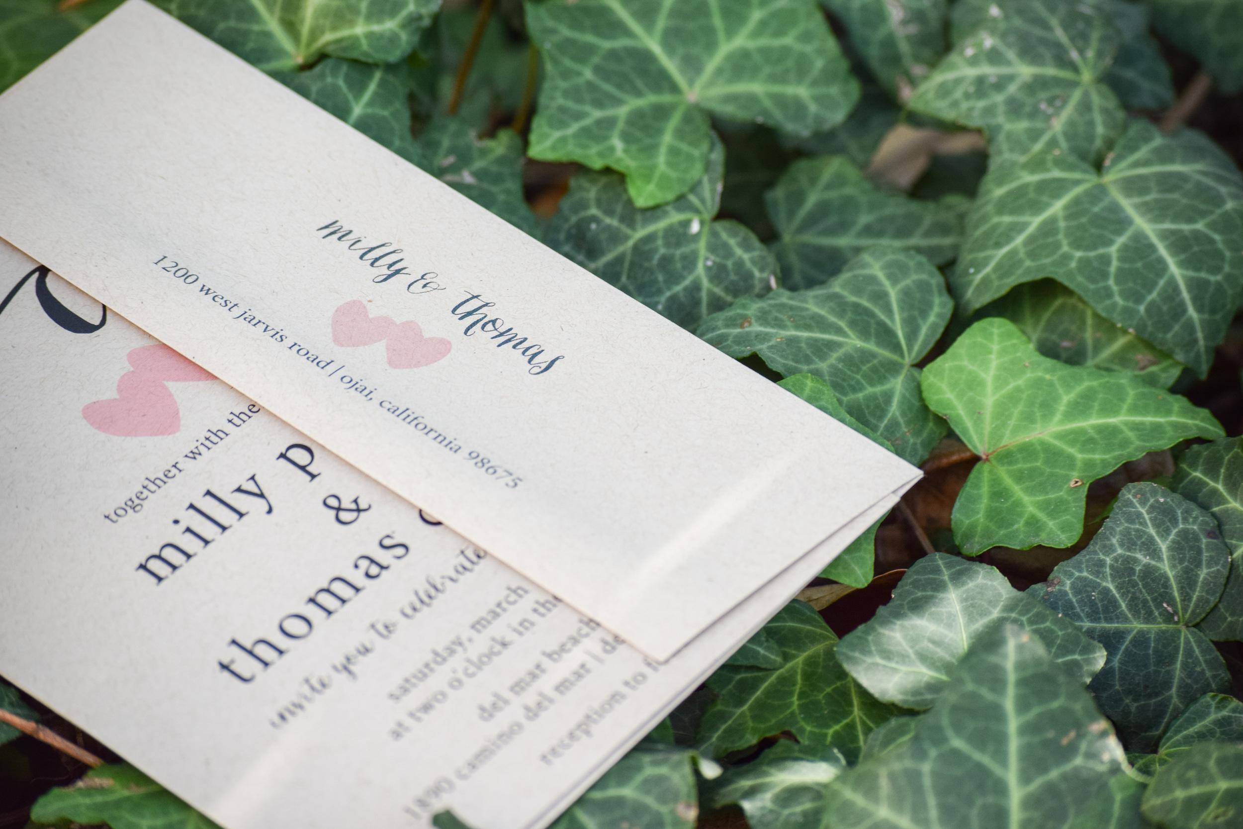 Rustic Kraft Paper Wedding Invitation Suite by Paper Hive