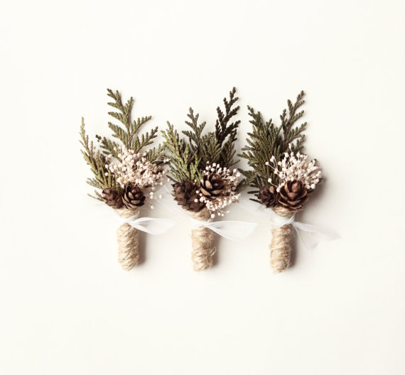Non-Floral Boutonnieres