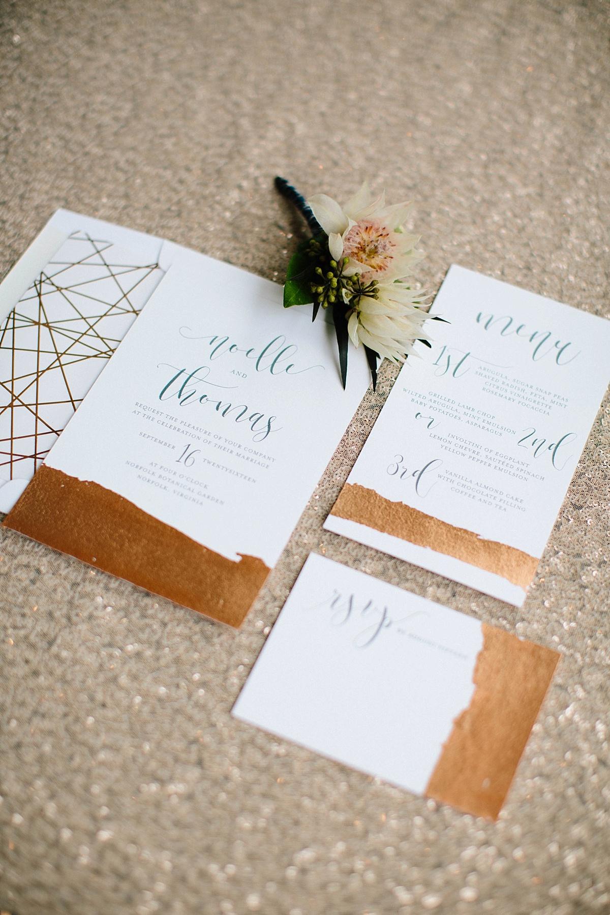 unique wedding invitations - davids bridal