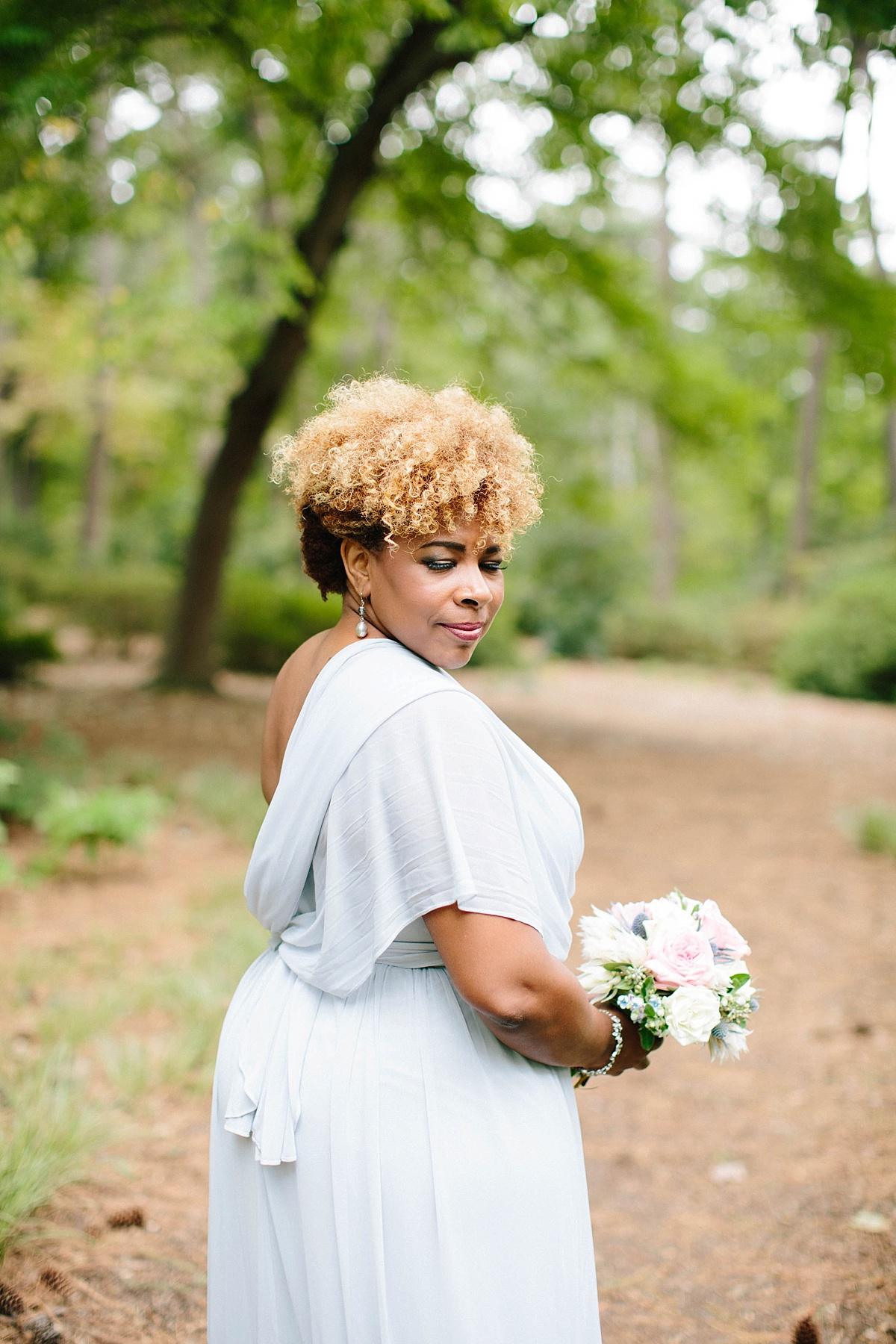 bridesmaid hairstyle ideas - davids bridal