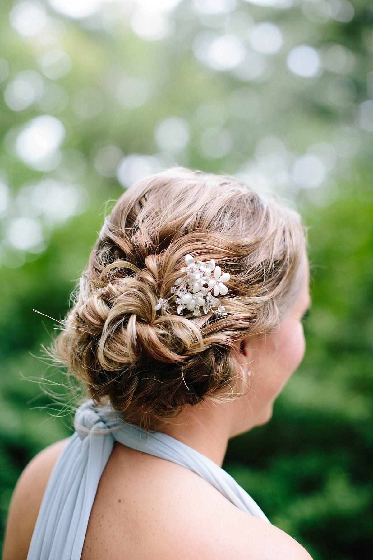bridesmaid hairstyle ideas- davids bridal