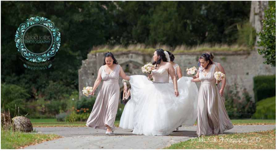 Elegant UK Castle Wedding