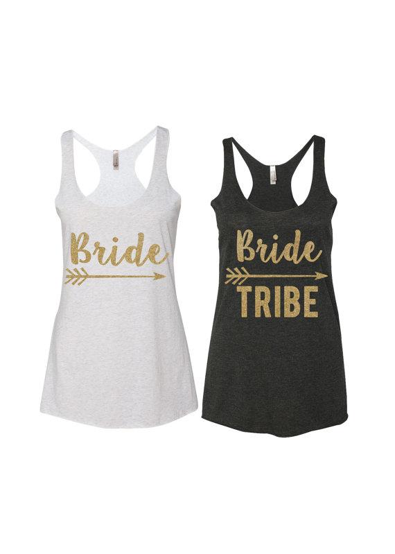 Bride Tribe Tanks