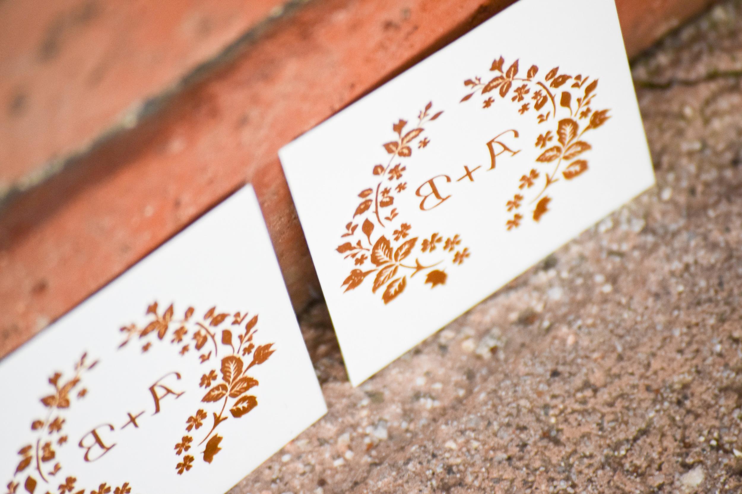 gold foil bahcelorette tattoos
