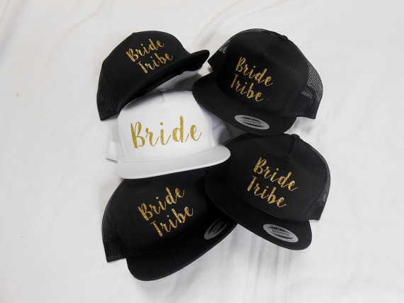 Bride Squad Bachelorette Party Hats