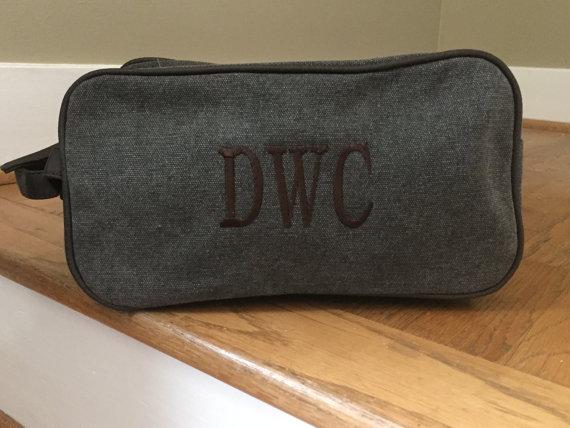 Travel Bag Groomsman Gift
