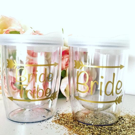 Bride Tribe Stemless Wine Glass Tumbler