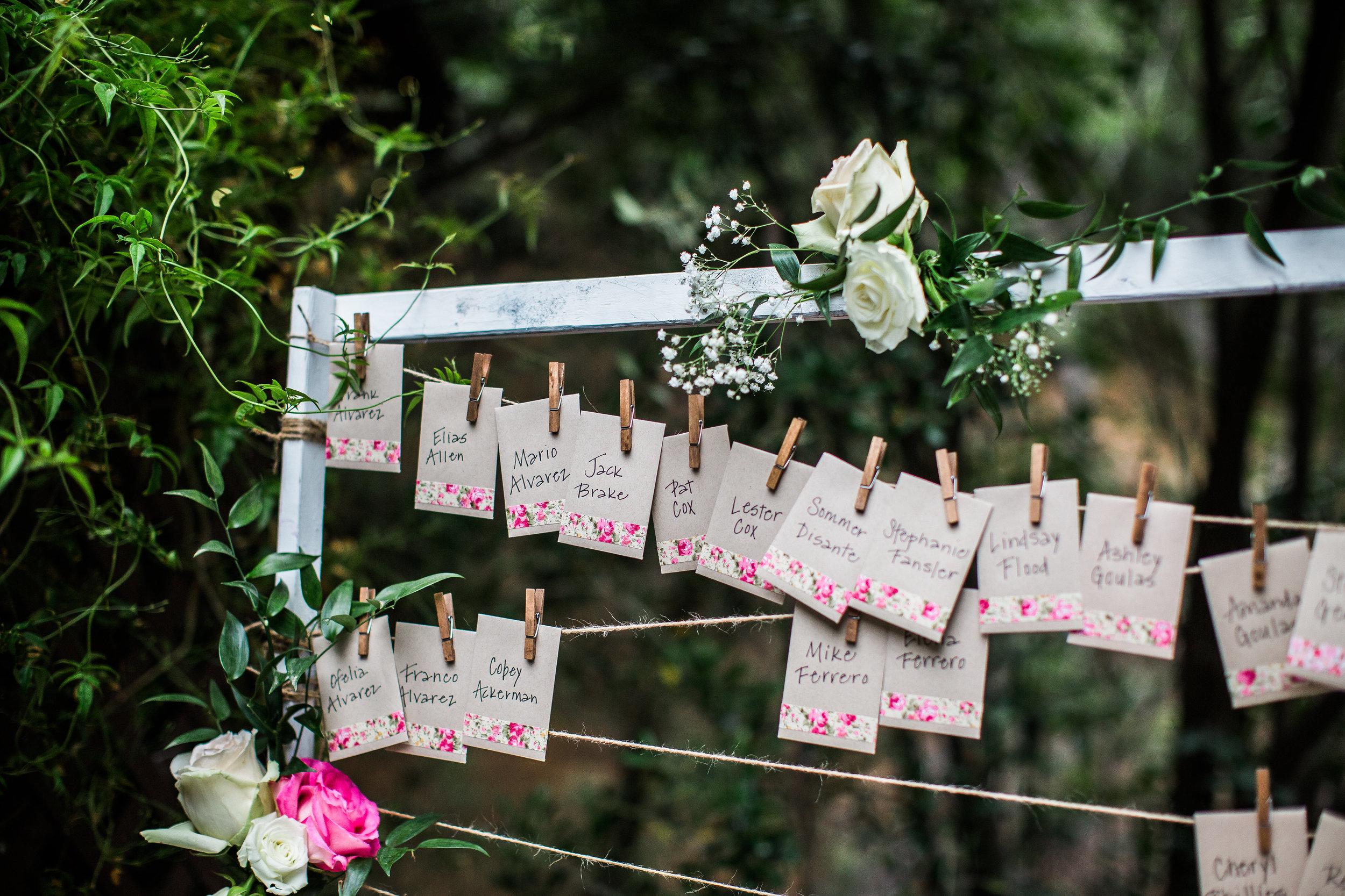 Inn of the Seventh Ray Wedding - Garden Wedding