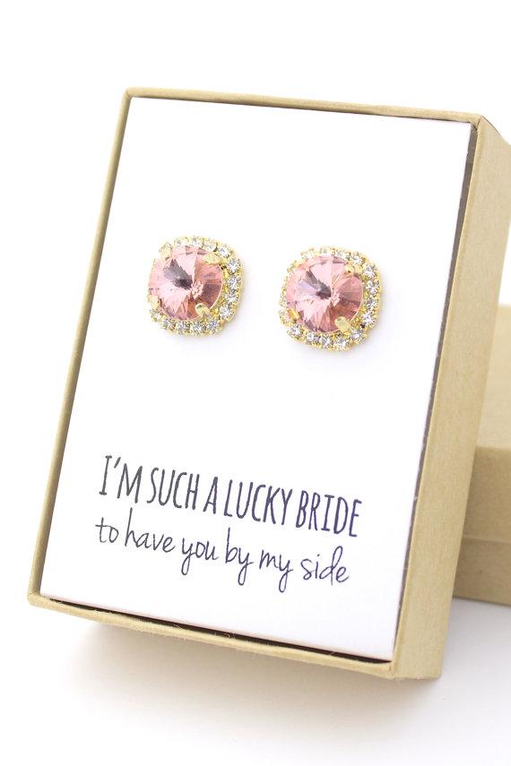 bridesmaid gift jewelry ideas