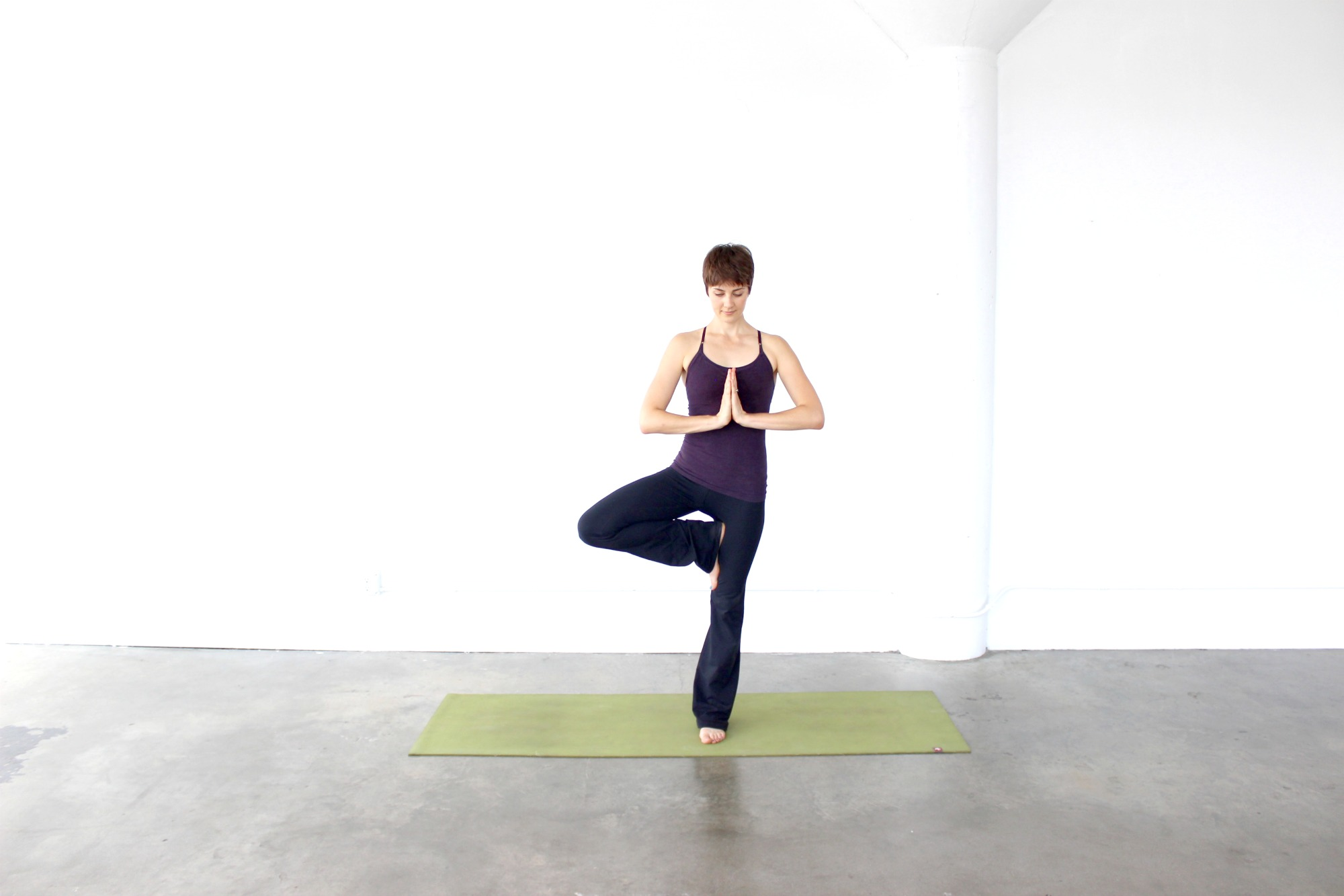 Wedding Stressed? Try These 4 Yoga Poses To Help You Relax.
