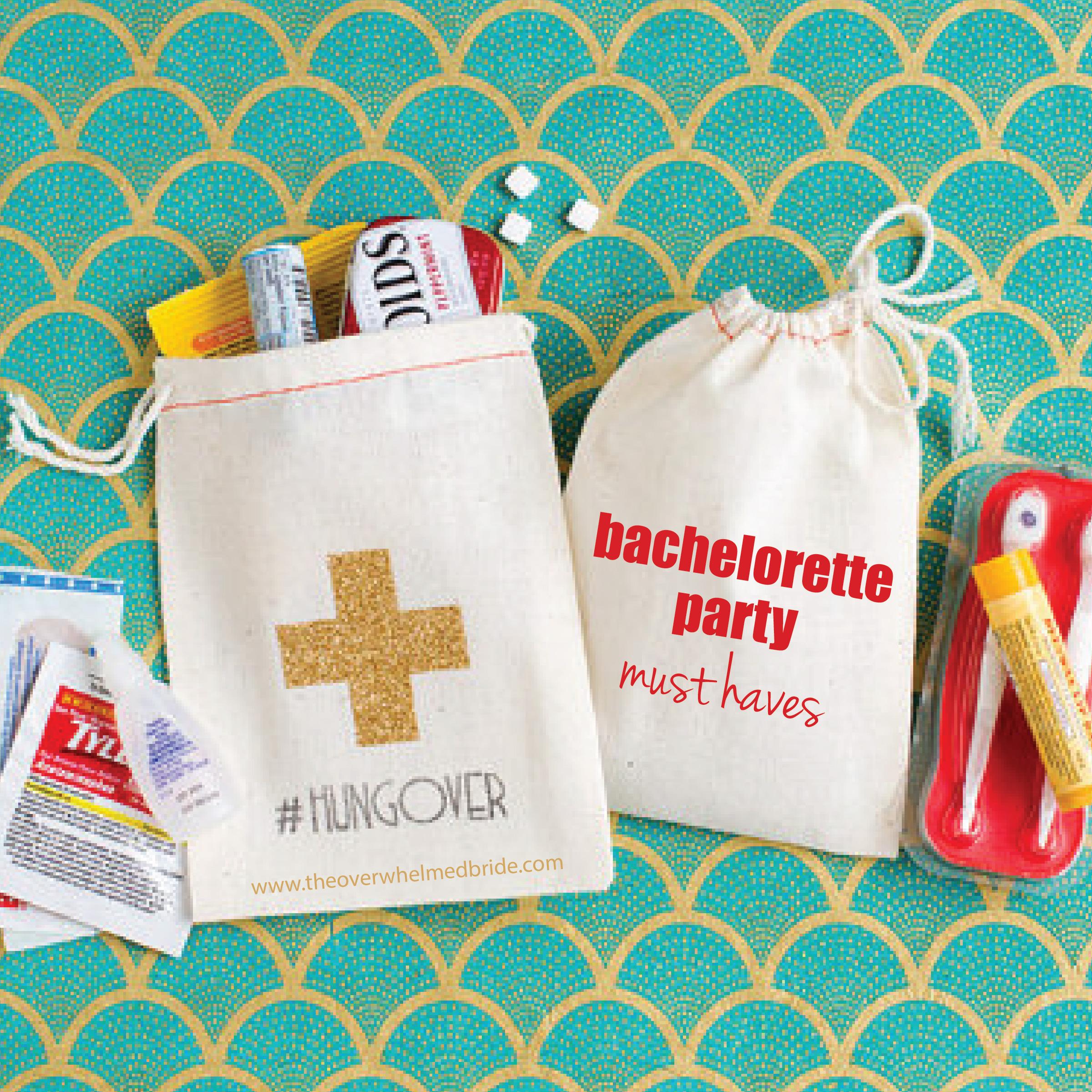 Fun Bachelorette Party Items + Decor