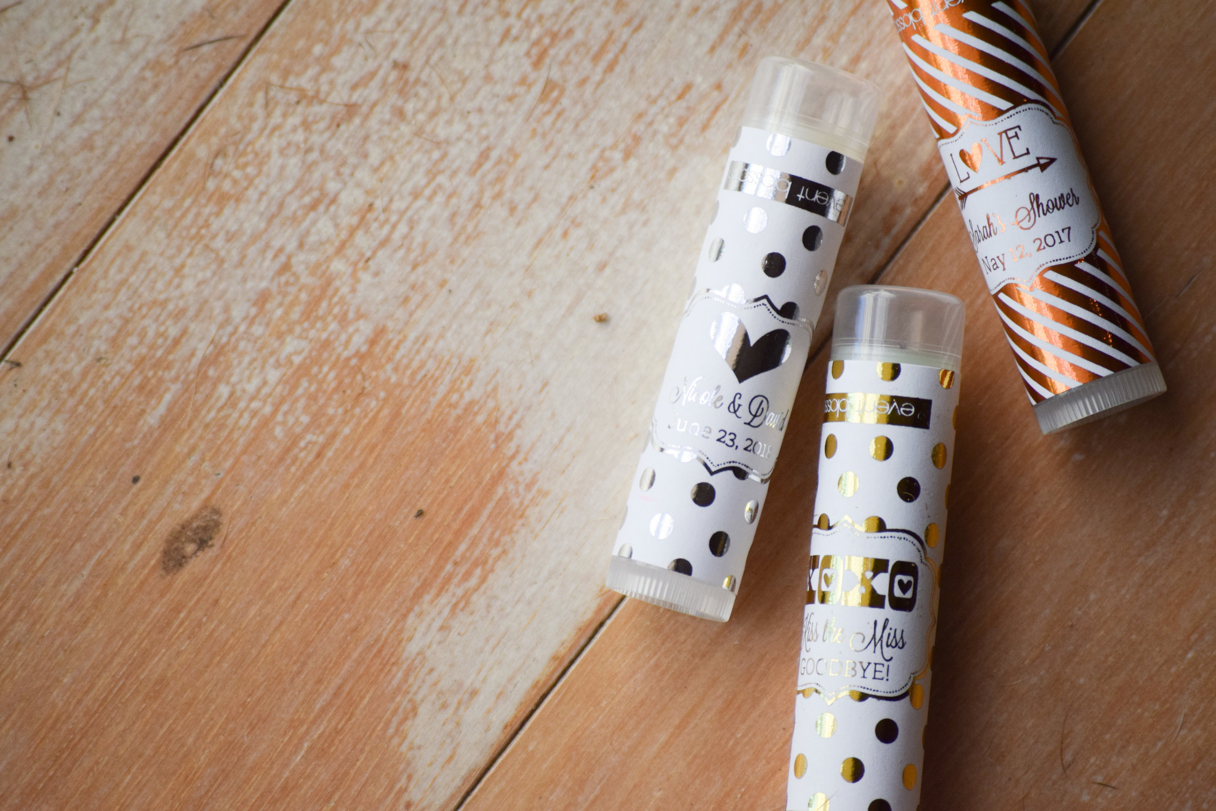 Personalized Lip Balm Bachelorette Party Favors by ModParty