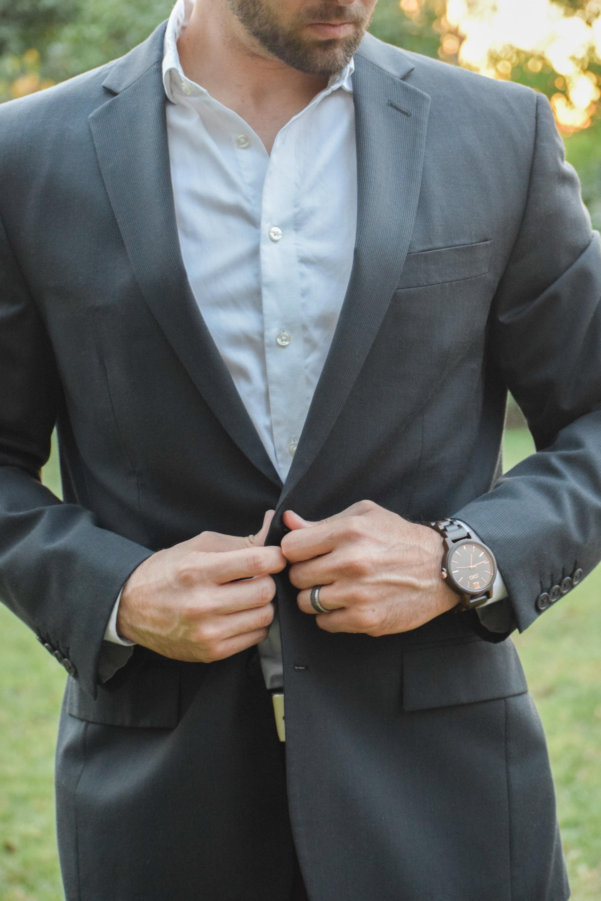 JORD Men's Wooden Watch - FRANKIE Series - Groom's Gift Idea