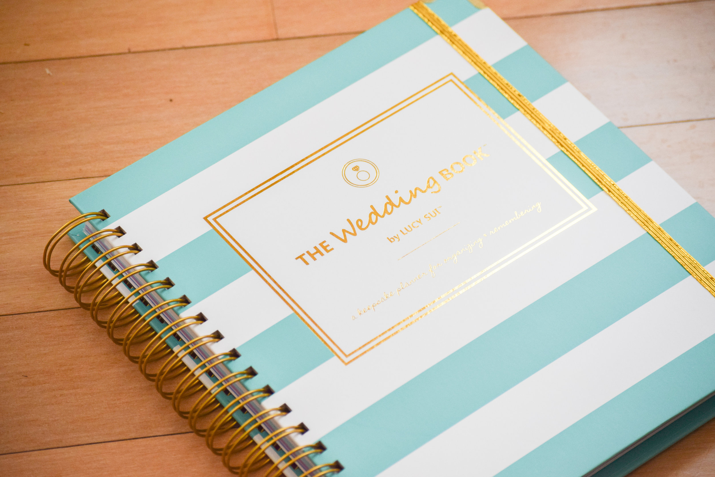 The Bridal Boutique | The Wedding Book Keepsake Planner by Lucy Sui