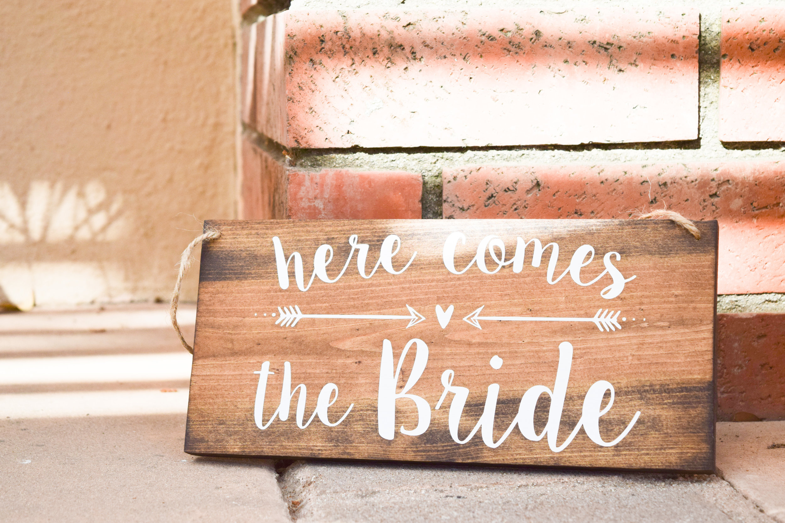 The Bridal Boutique | Wooden Wedding Signs by The Rusty Arrow