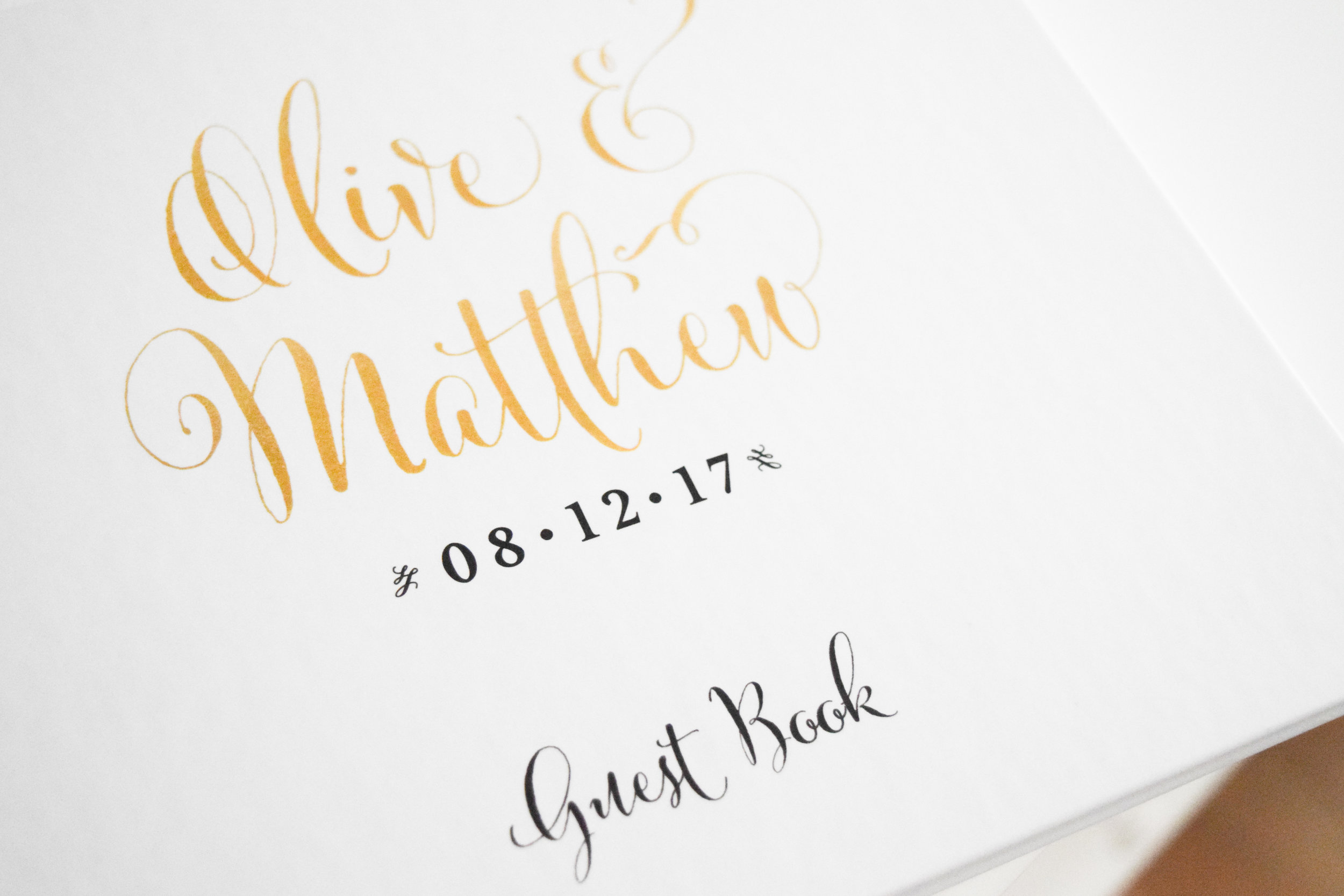 The Bridal Boutique | Custom Guest Book by Paper Lux Stationery, Guest Book Alternative