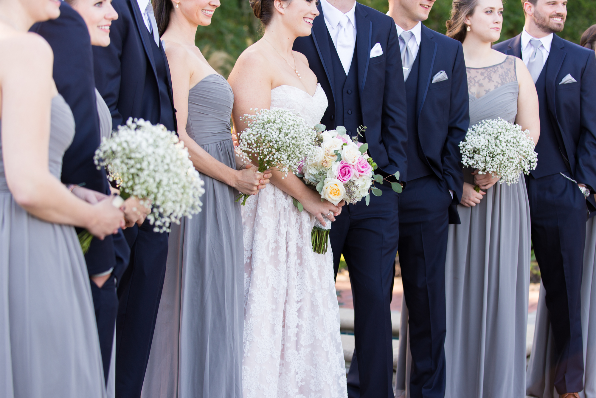 Bridesmaid Bouquets - Travel Themed Wedding - Caitlin Gerres Photography