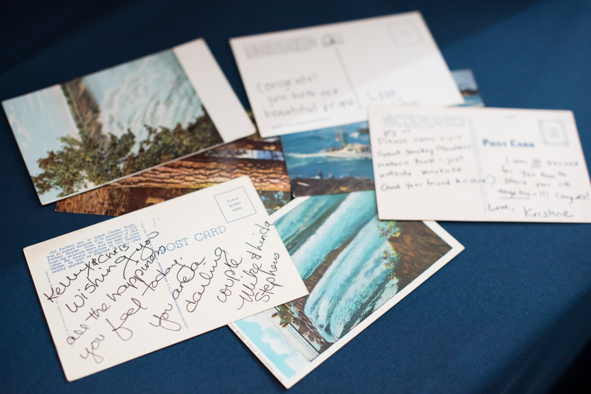 Postcard Guest Book Alternative - Travel Themed Wedding - Caitlin Gerres Photography