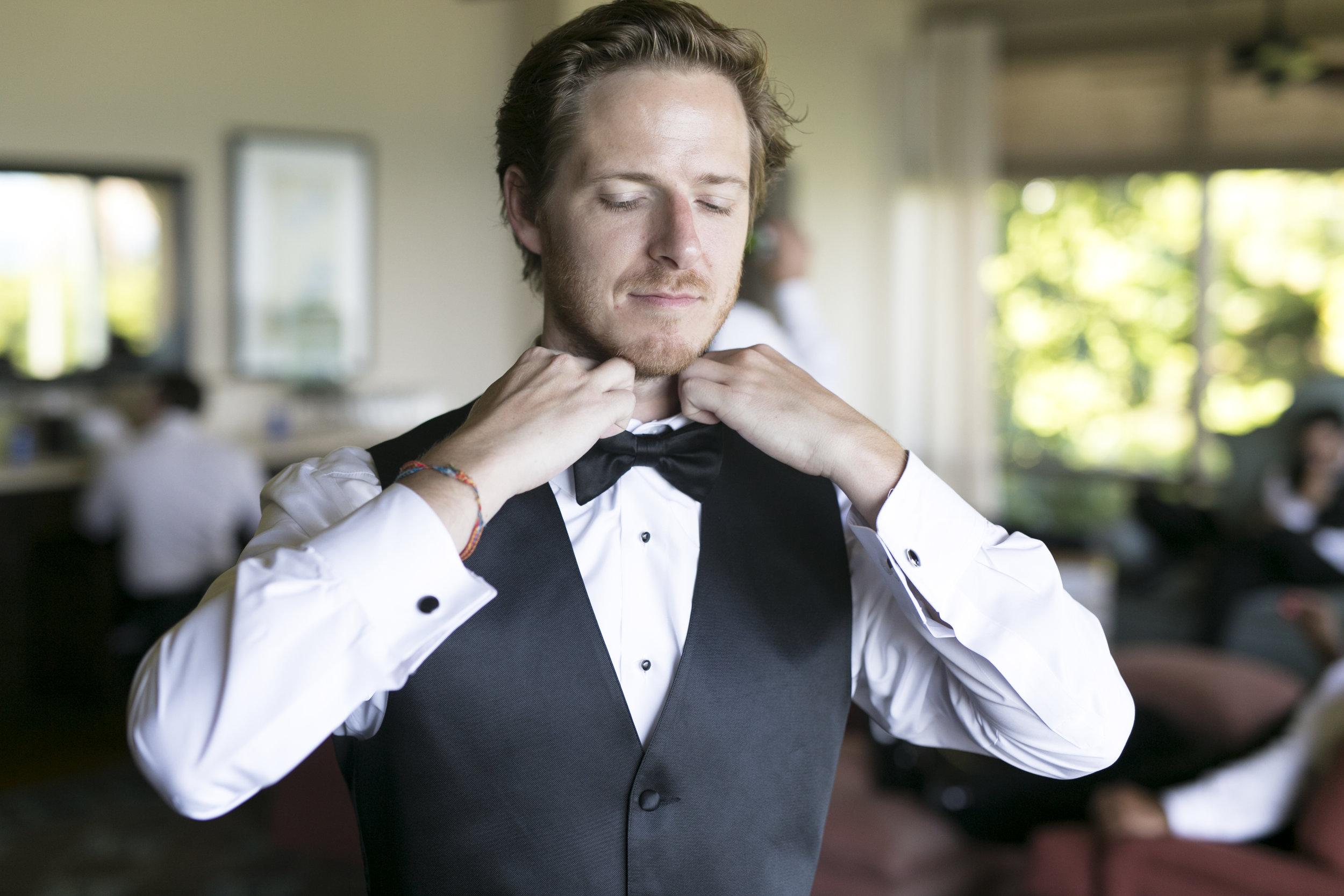 Groom Photos - A Romantic Bel Air Bay Club Ocean-View Wedding - Southern California Wedding - Kevin Dinh Photography