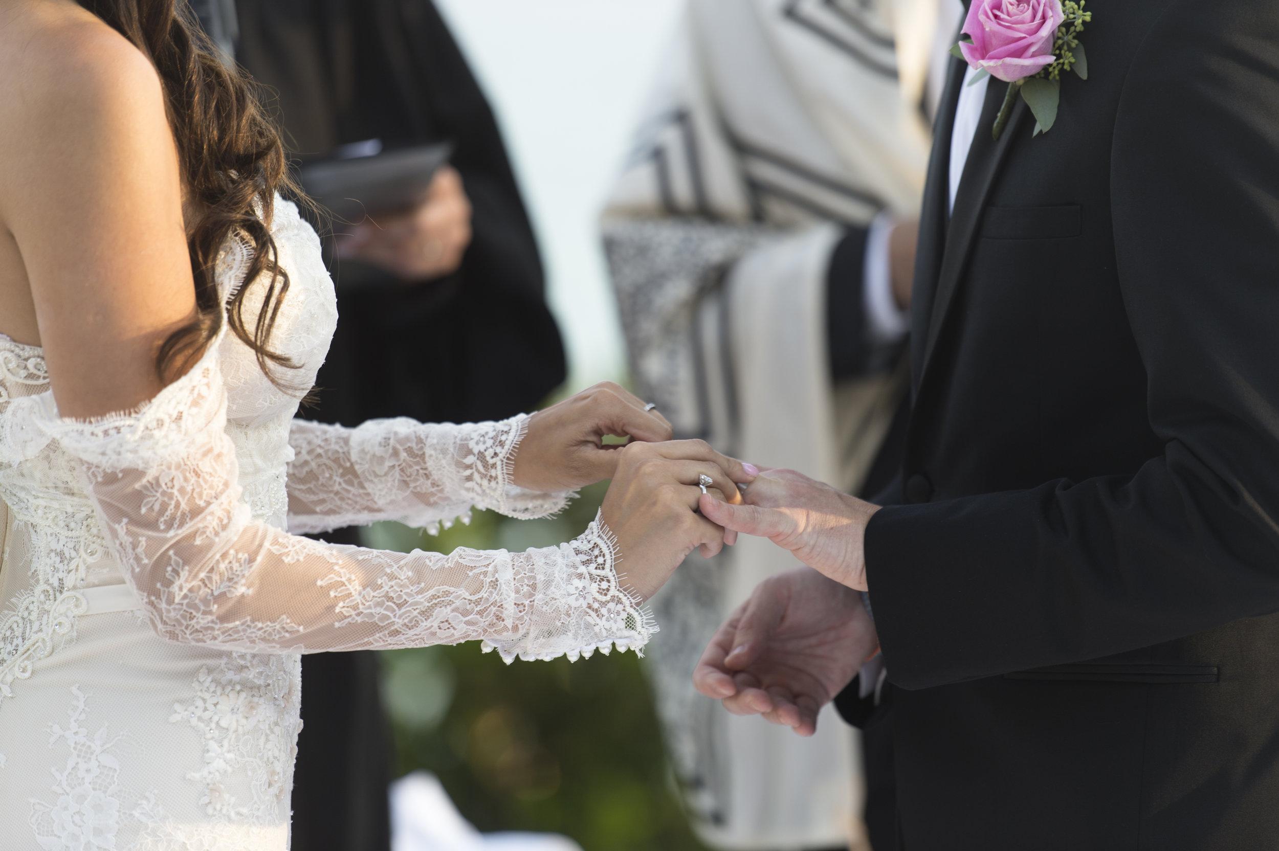 Lone Sleeve Wedding Dress 0 A Romantic Bel Air Bay Club Ocean-View Wedding - Southern California Wedding - Kevin Dinh Photography
