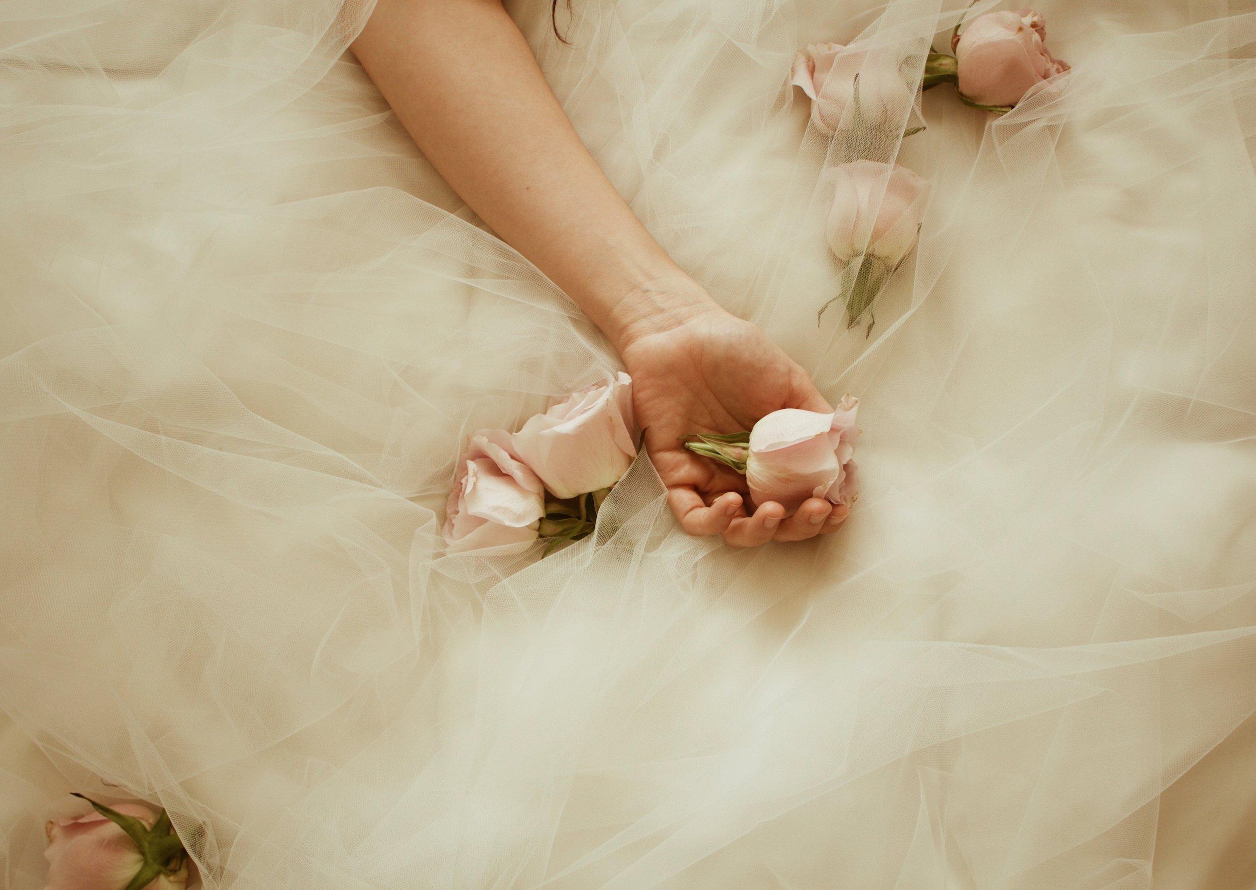 Romantic 1950's Havana-Inspired Wedding Gowns by Gretchen Dawley Bridal