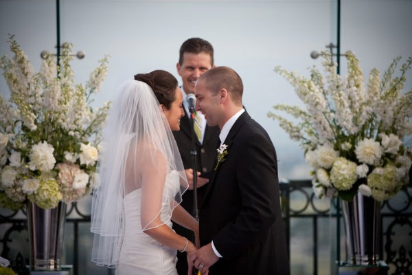 RAINDROPS AND RAINBOWS ON HER WEDDING DAY - The London Hotel
