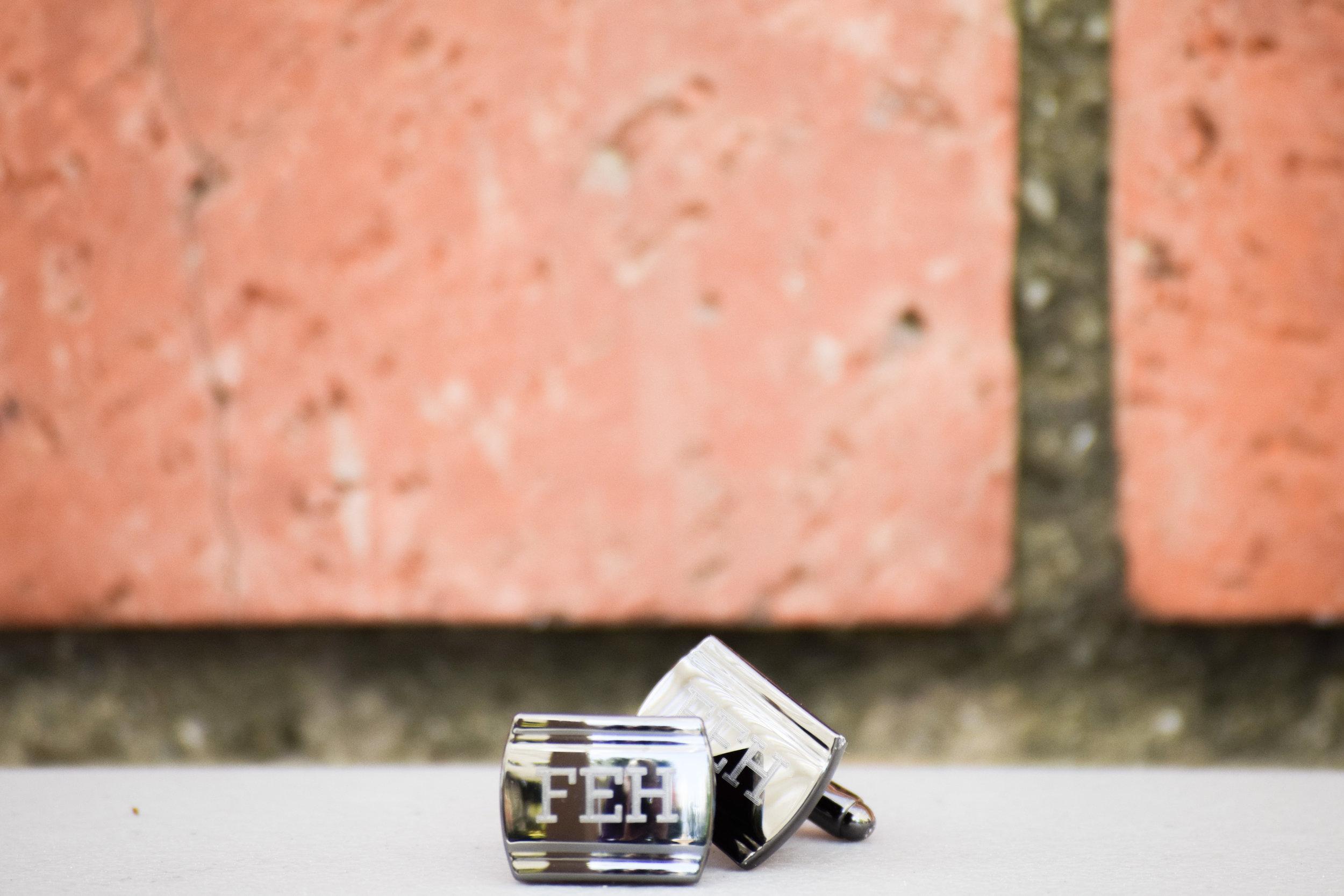 Groomsman Proposal Gift Ideas -- Engraved Groomsman Cuff Links - Things Remembered