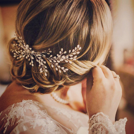 Gorgeous Bridal Hair Jewelry