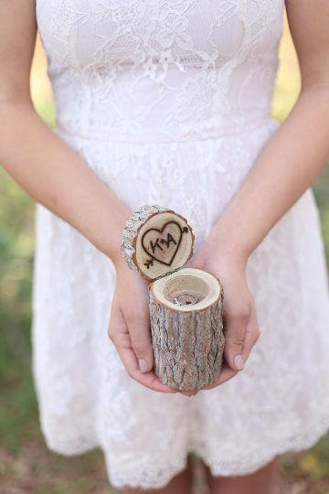 Unique Ring Bearer Ring Holders