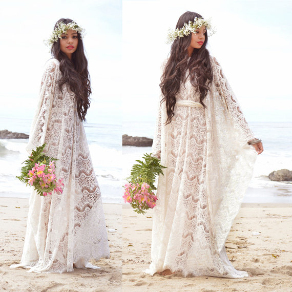 56 Boho Wedding Dresses Under 1000