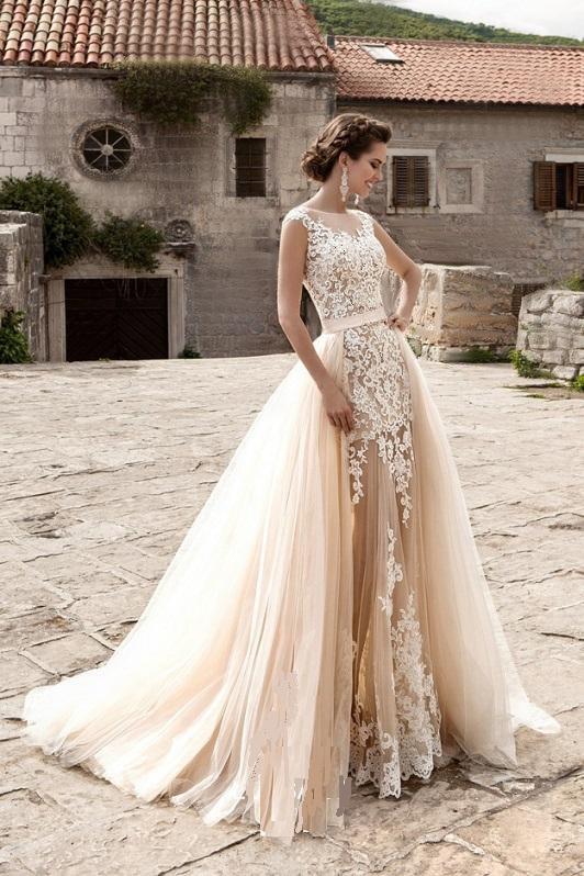 Boho Wedding Dresses Under $1000