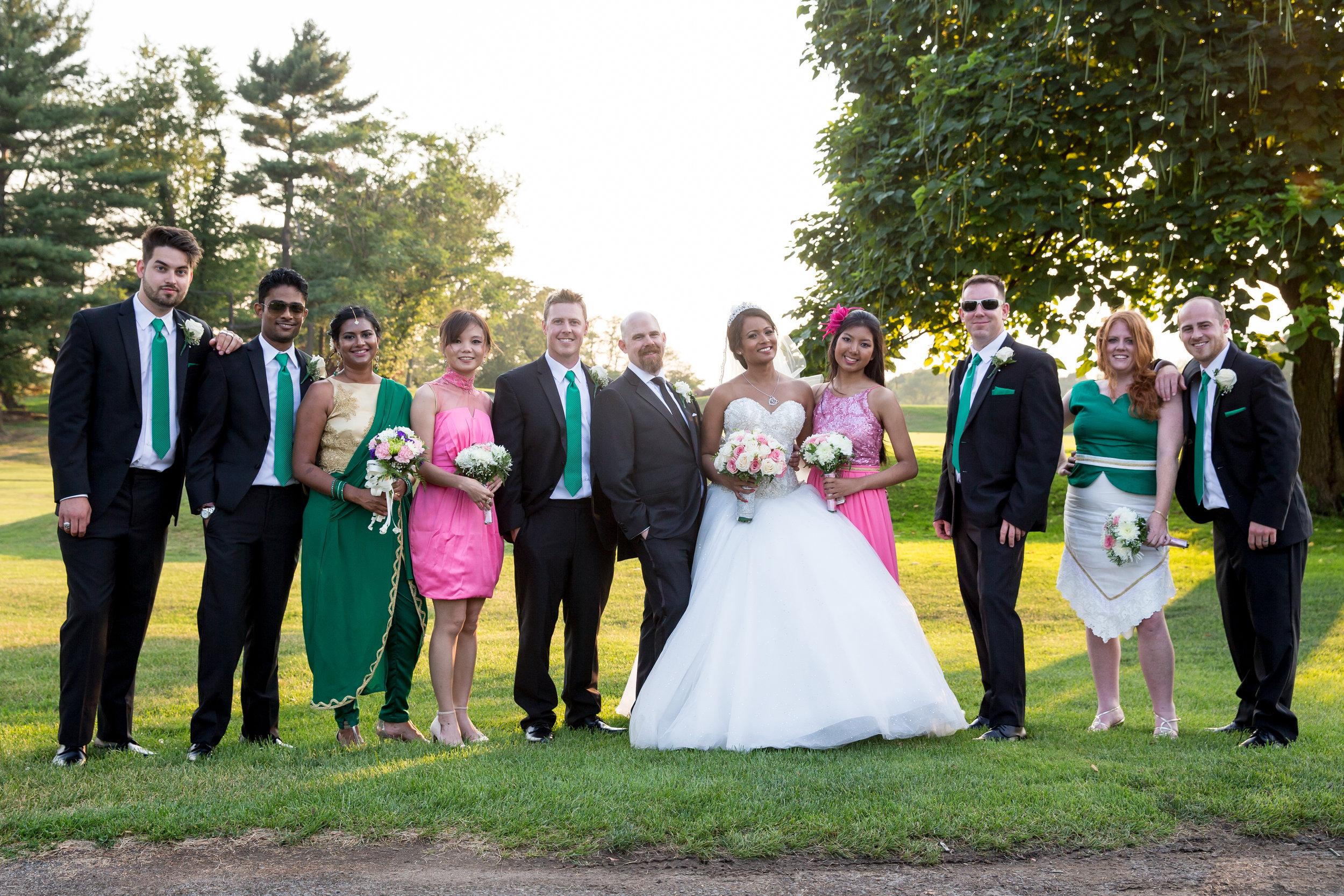 Douglaston Manor Wedding - Trinity Lutheran Church Astoria Wedding -Craig Paulson Photography