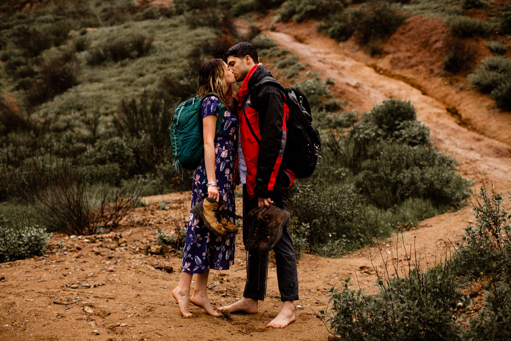 Cave of Munits Engagement Photos -- A Nomadic Love Photography
