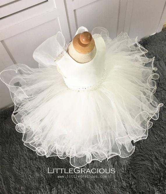 Tulle Poofy Flower Girl Dresses