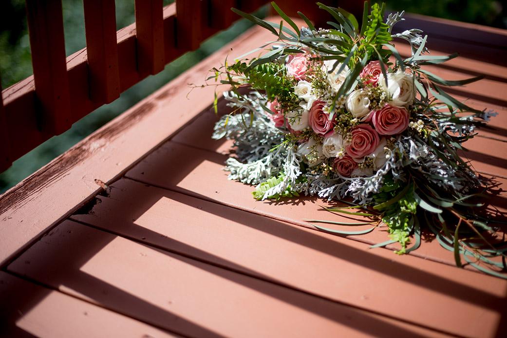 Bohemian Bouquet - Catskills Mountain Bohemian Wedding - Custom by Nicole Photography