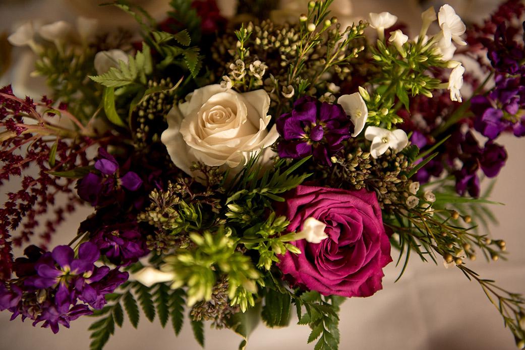 Boho Wedding Centerpieces - Catskills Hunter Mountain Bohemian Wedding - Custom by Nicole Photography
