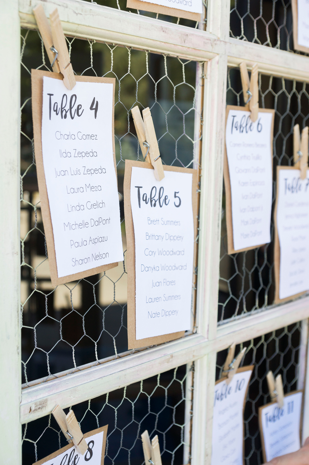 Unique Rustic Wedding Seating Chart - A Rustic-Vintage Glam McCoy Equestrian Center Wedding - Peterson Design & Photography