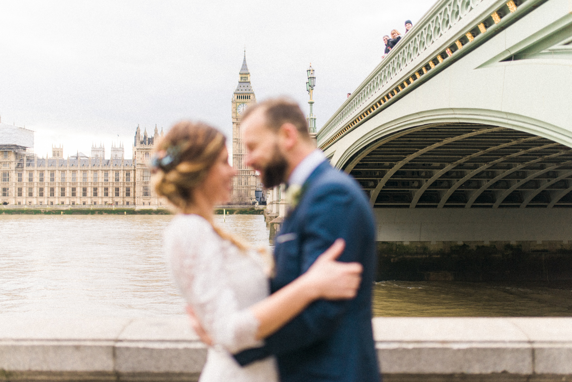 Modern-Vintage London Wedding - A Styled London Elopement - Adriana Morais Fotografia