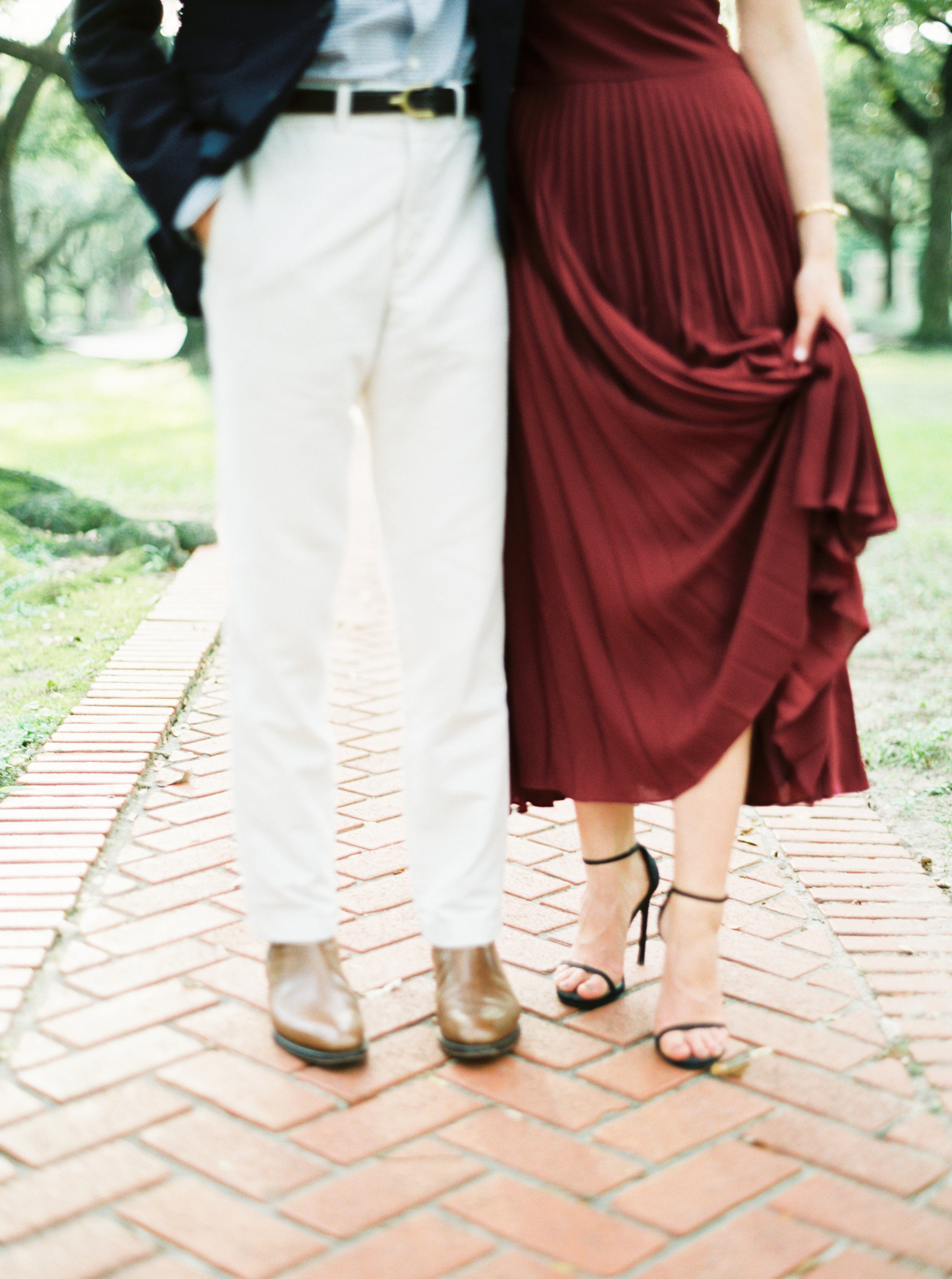Cy Twombly Gallery Engagement Photos - Anne Brookshire Photography
