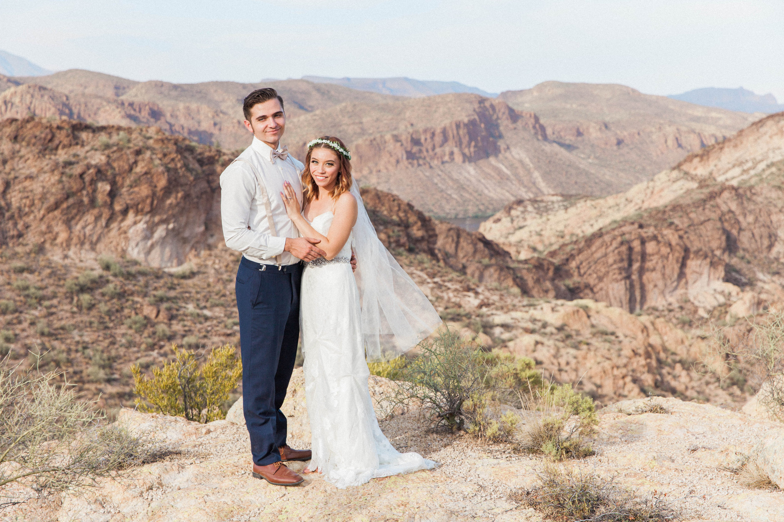 A Simple, DIY Arizona Wedding - Shaleena Danielle Photography -- Wedding Blog - The Overwhelmed Bride