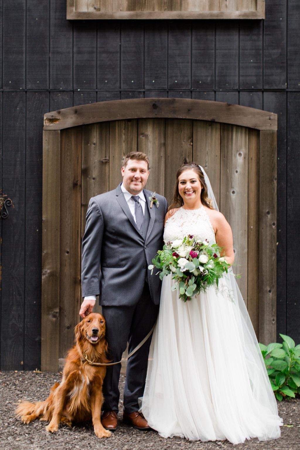 The Barn at Kennedy Farm Wedding - Lizton, Indiana Wedding Venue - Danielle Harris Photography -- Wedding Blog - The Overwhelmed Bride