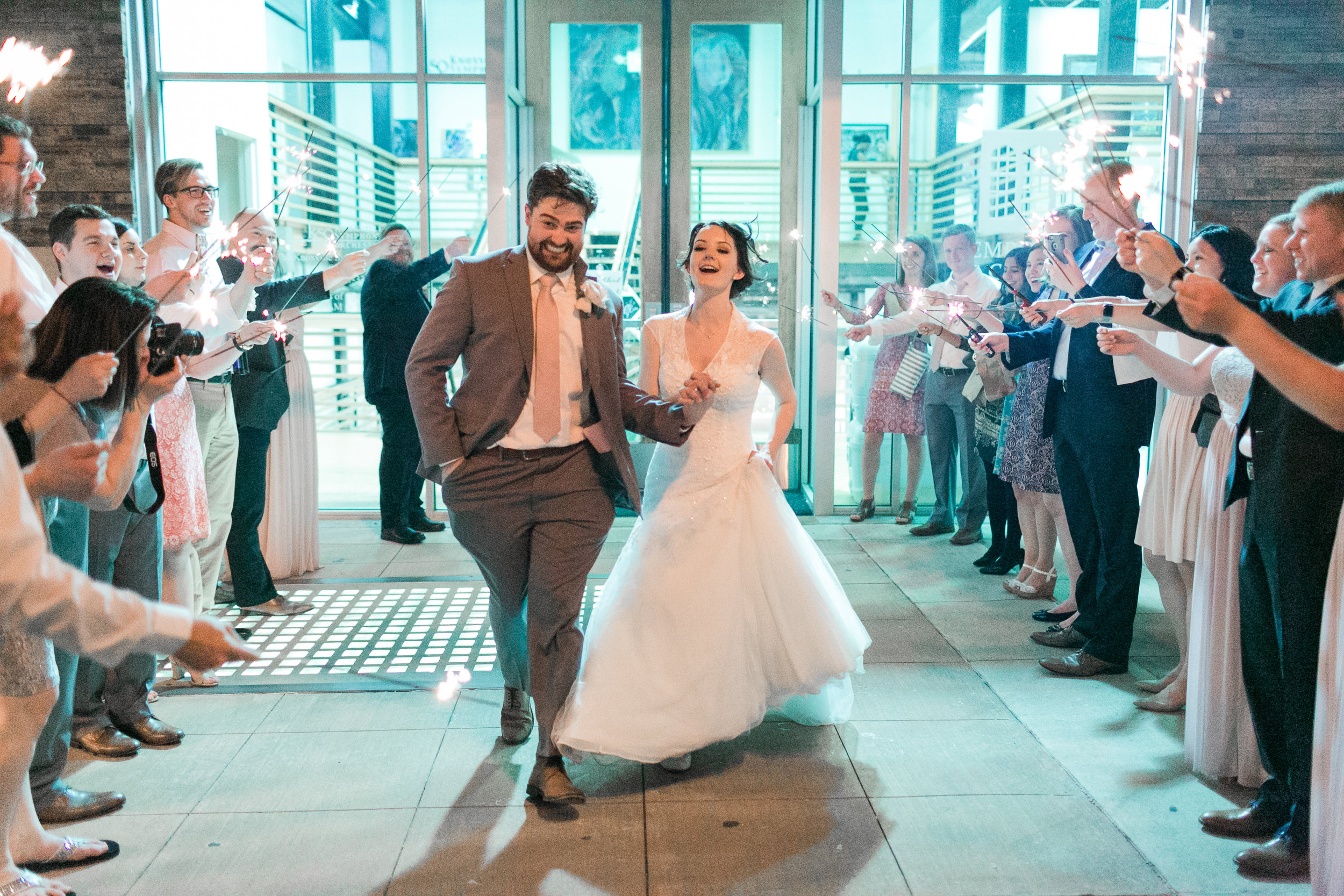 Art Gallery Wedding - The Emporium Center Wedding - Matthew Davidson Photography -- Wedding Blog - The Overwhelmed Bride