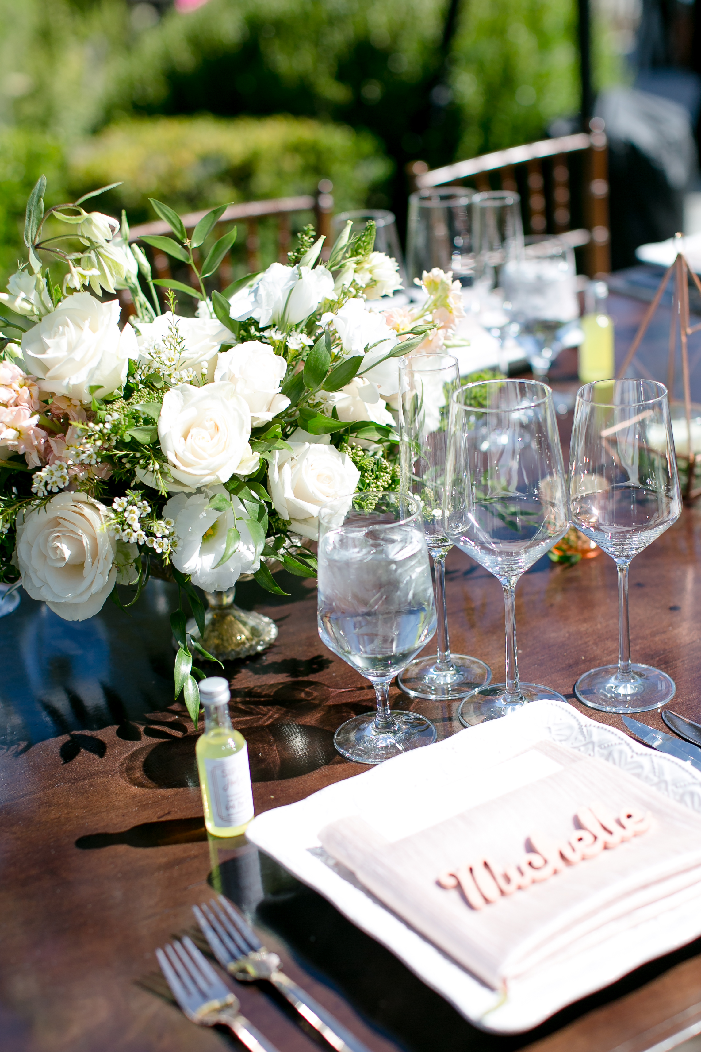 A Romantic Casa Contenta Private Estate Wedding - The Studio by Leah Marie Photography -- Wedding Blog - The Overwhelmed Bride