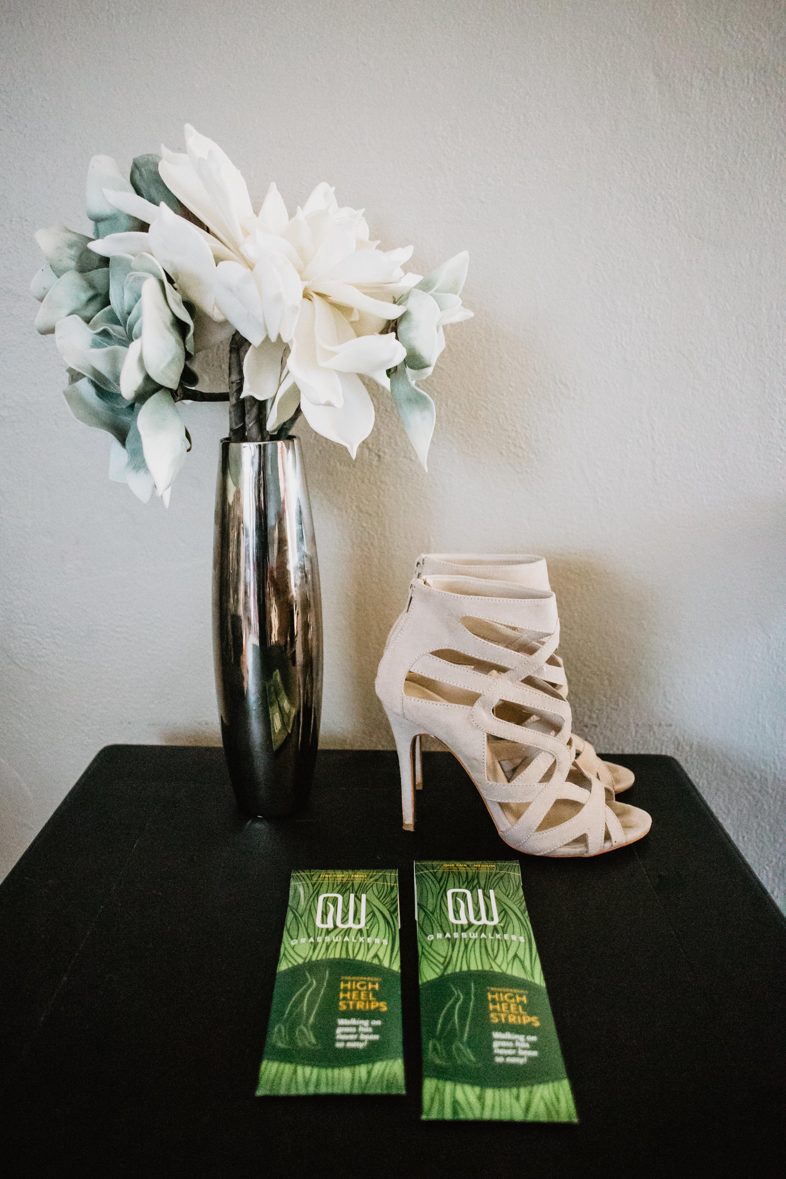Stiletto Heel Grass Protectors - Make it Easier to Walk in Grass with Heels - Grasswalkers -- Wedding Blog - The Overwhelmed Bride