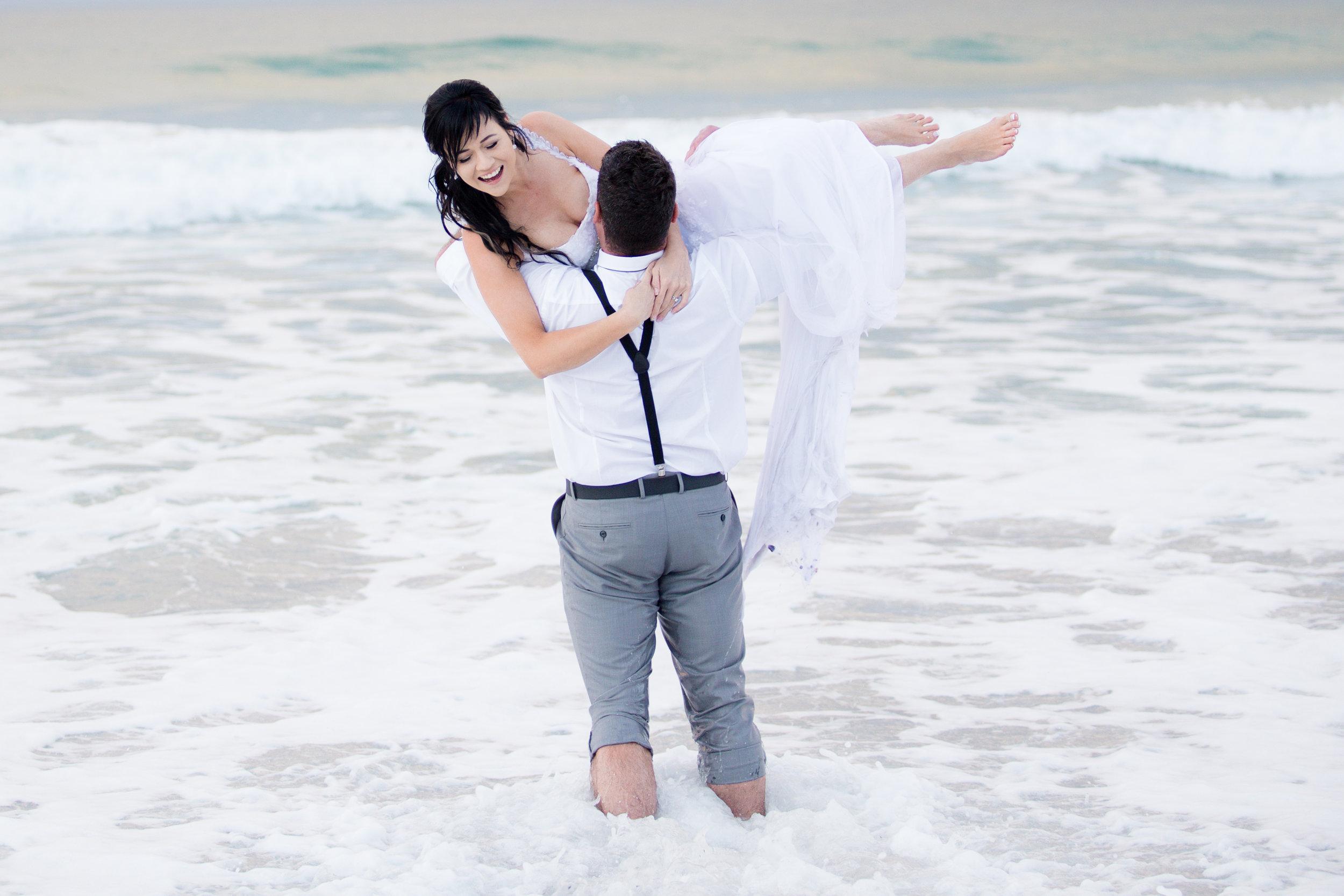 A Trash the Dress Beach Shoot - Samantha Jackson Photography -- Wedding Blog - The Overwhelmed Bride