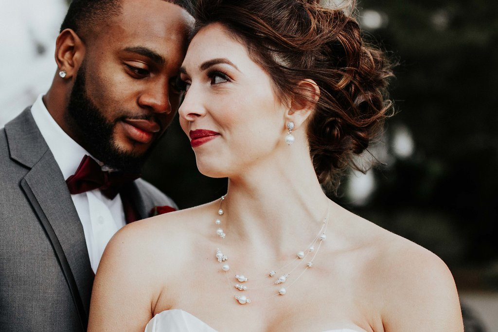 Black Horse Inn Virginia Wedding - Northern Virginia Wedding Photographer - Gorgeous Moody Red and Gold Wedding