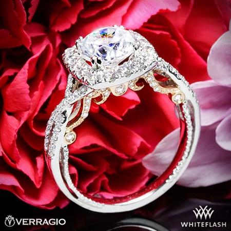 Unique Halo Engagement Rings - White Flash -- Wedding Blog - The Overwhelmed Bride