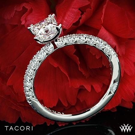 Unique Princess Cut Solitaire Engagement Ring - White Flash -- Wedding Blog - The Overwhelmed Bride